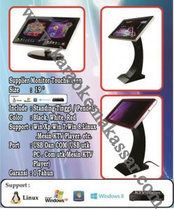 pemesanan karaoke Monitor Touch screen di makassar